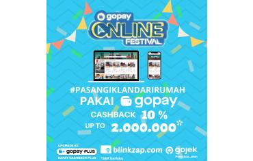 Blinkzap X GoPay Kini Hadir Untuk Kalian!